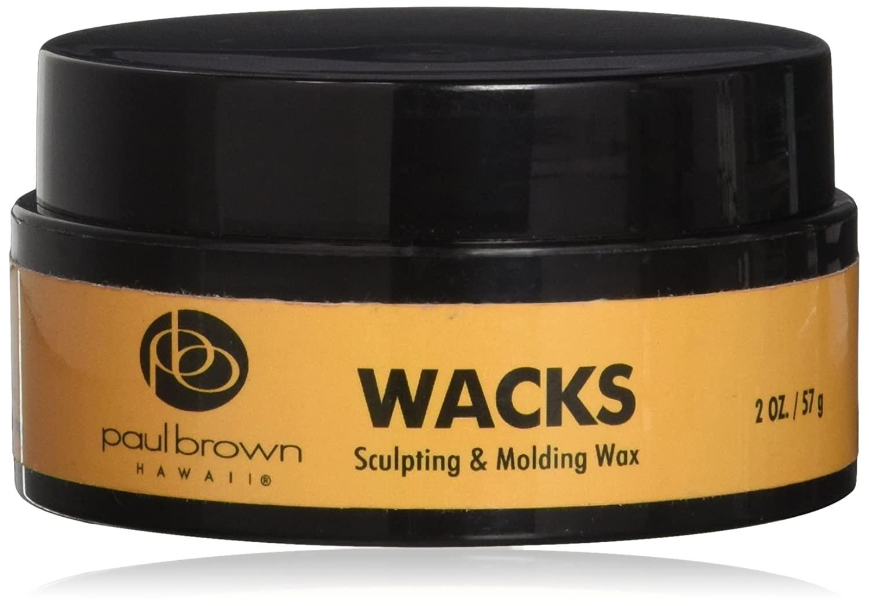 Paul Brown Hawaii Wacks Styling Wax, 2 Ounce