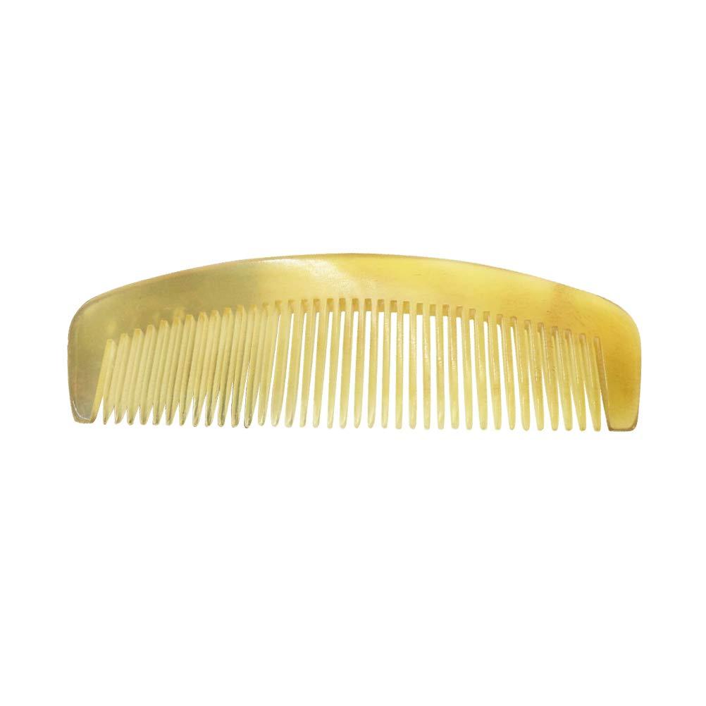 Lurrose Anti-static Comb Portable Horn Comb Prevent Hair Loss Hair Combs for Men Women Kids(9cm)