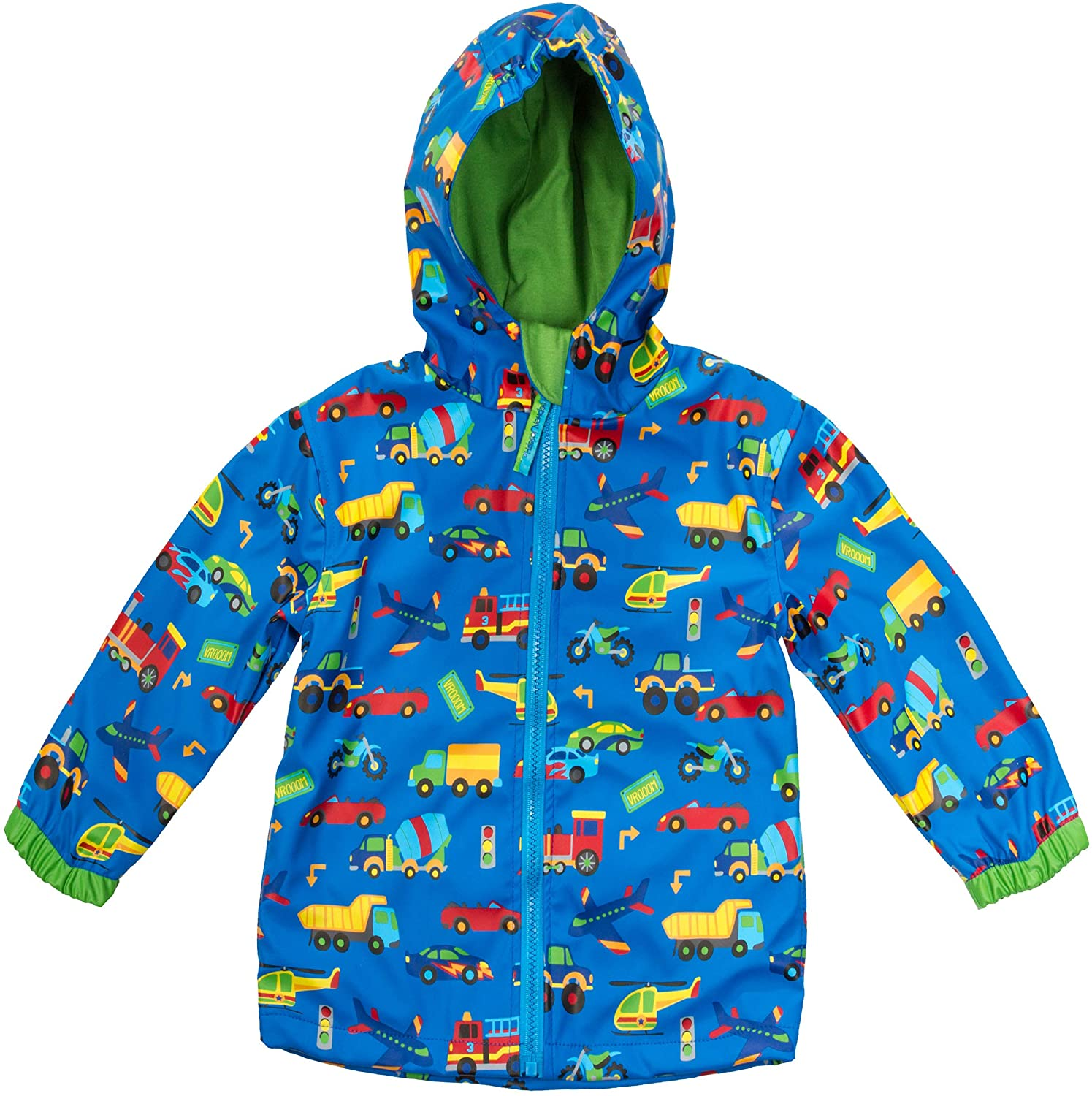 Stephen Josheph Gifts Kids' Little Boys' Stephen Joseph Raincoat, TRANSPORTATION, 56