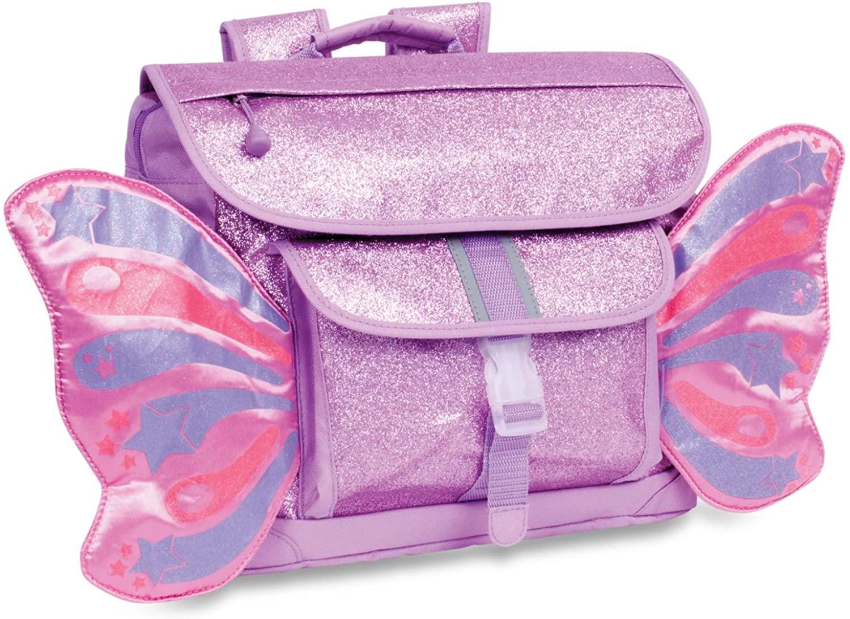 Bixbee Kids Backpack, Sparkalicious Purple Butterflyer