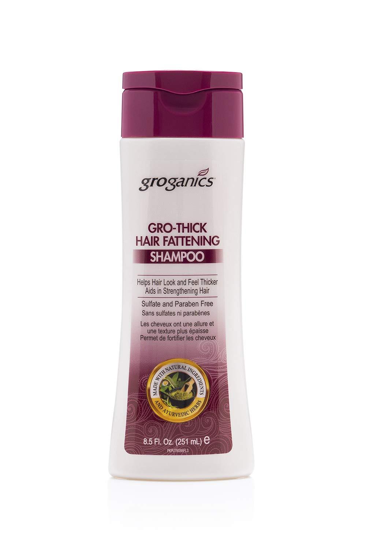 Groganics Thick Hair Fattening Shampoo 8.5oz