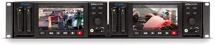 Aja 2RU Rackmount for Ki Pro Ultra 4K Video Recorder and Player