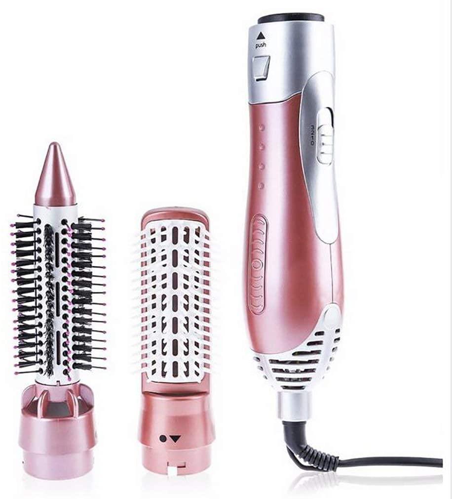 NACHEN Hot Air Brush, One Step Hair Dryer & Volumizer, 3-in-1 Hair Dryer Brush Styler for Straightening, Curling, Salon Negative Ion Dryer Lightweight Hot Air Modeling Brush