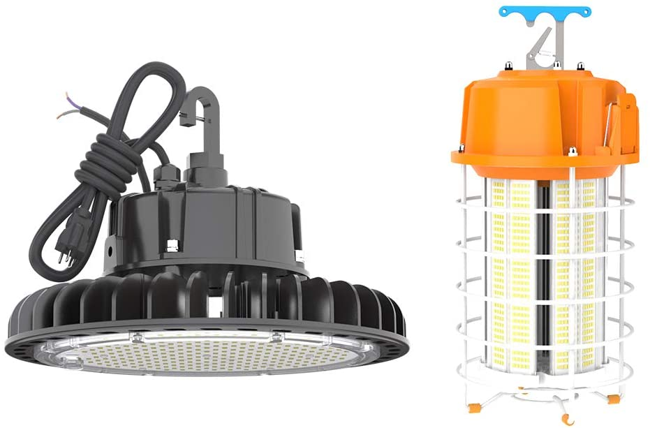 HYPERLITE 100W LED High Bay Light Bundle 120W LED Work Light