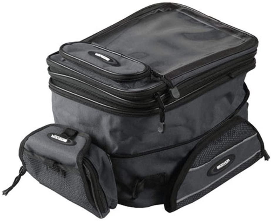 MADONG For Saiyu SCOYCO MB09 Fuel Tank Bag Motorcycle Fuel Tank Bag Magnetic Bag Double Shoulder Fuel Tank Bag Knight Bag (Color : Black)