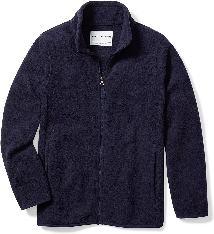 DHgate Essentials Boys Polar Fleece Full-Zip Jacket
