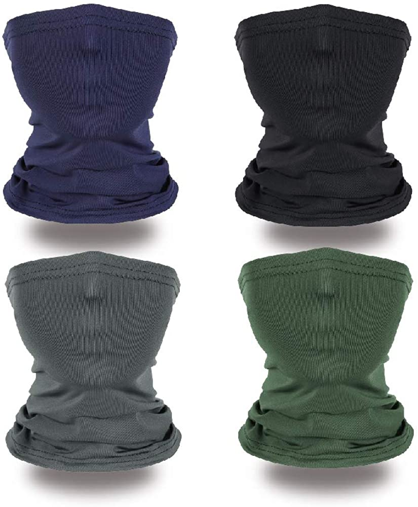 Kids Neck Gaiter Face Mark Face Coverings Neck Gaiters for Kids Cooling Neck Wraps for Summer Sport Outdoor
