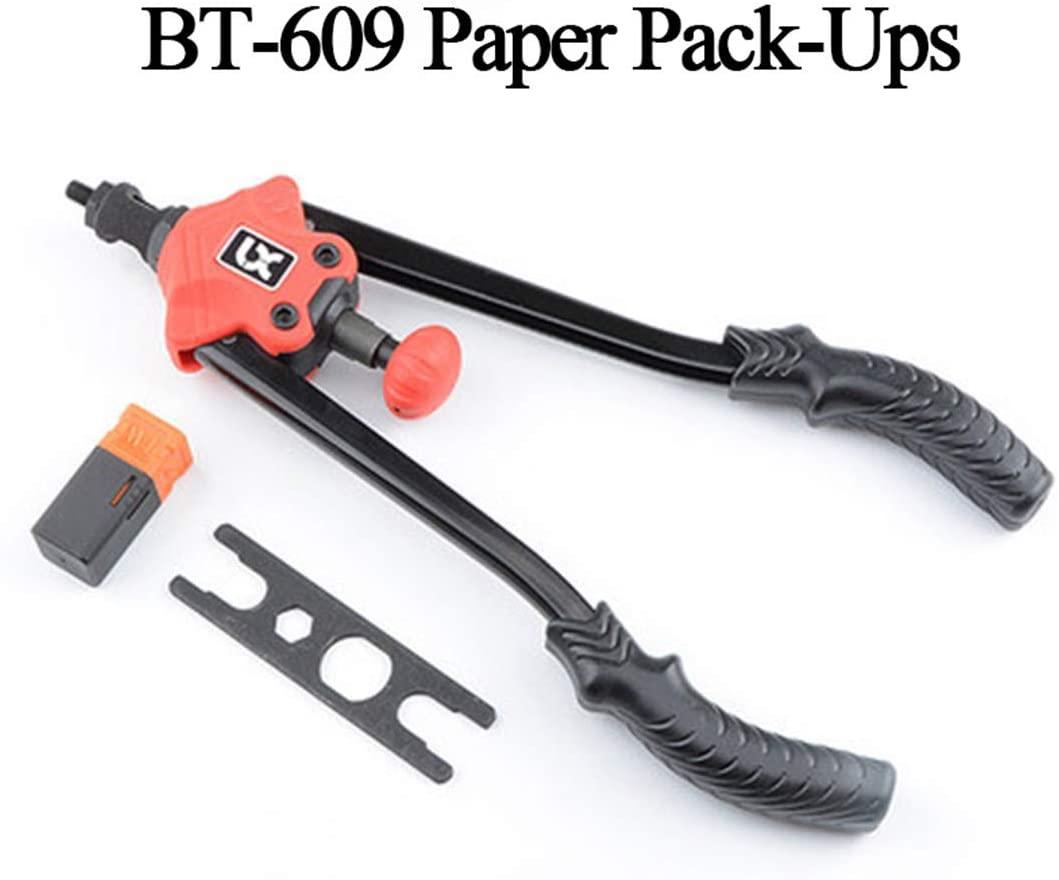 Riveter Gun Labor-Saving And Efficient Manual Hardware Tool Riveting Machine Rivet Nut Gun Heavy Hand BT-609 With Carton