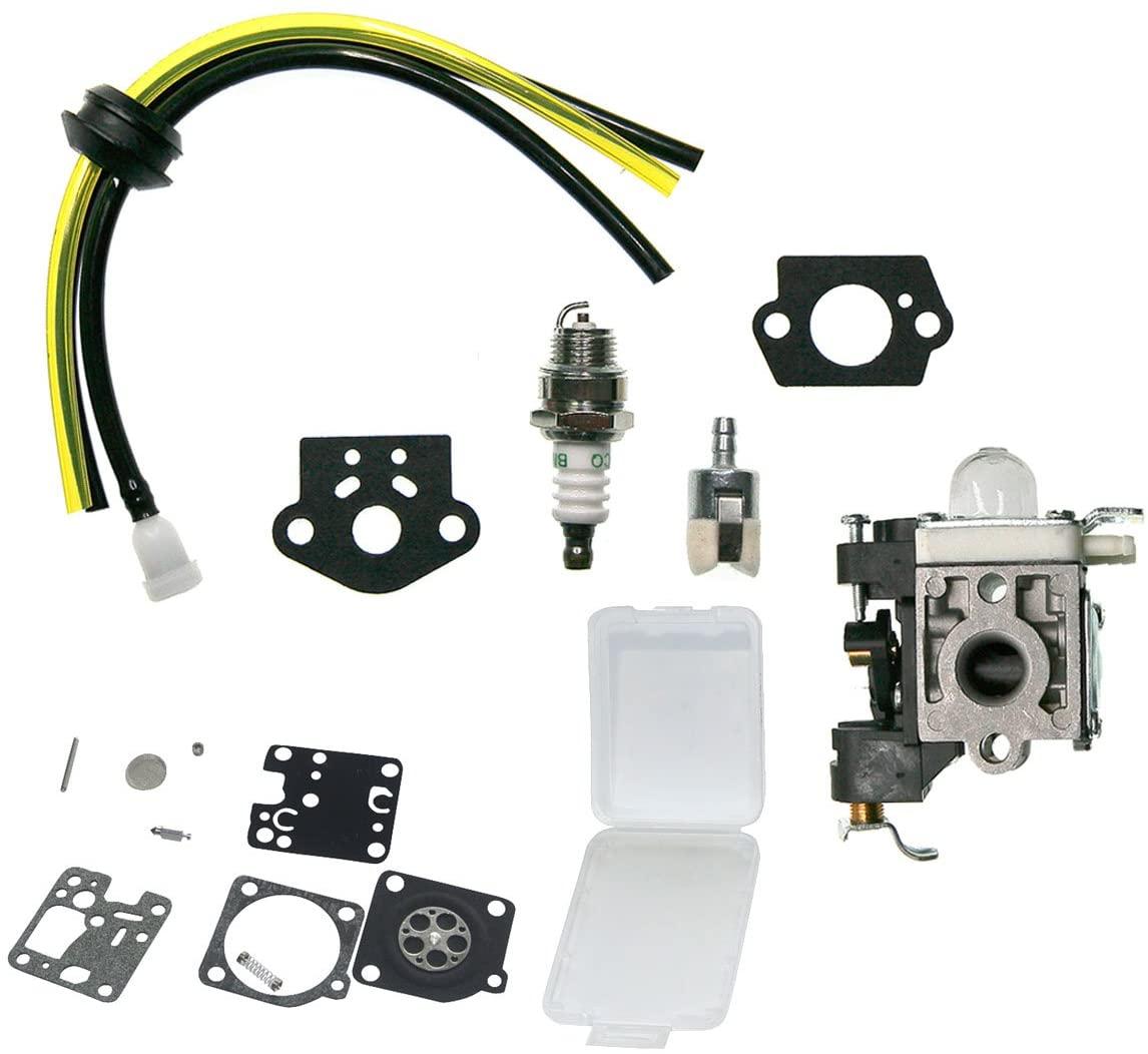 JRL Carburetor Carb for ZAMA RB-K90 Echo PB251 PB255LN PB255 ES255 New Diaphragm