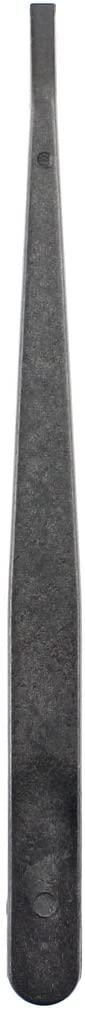 Mobile Phone JF-S13 Anti-Static Carbon Fiber Straight Tip Tweezers(Black) (Color : Black)