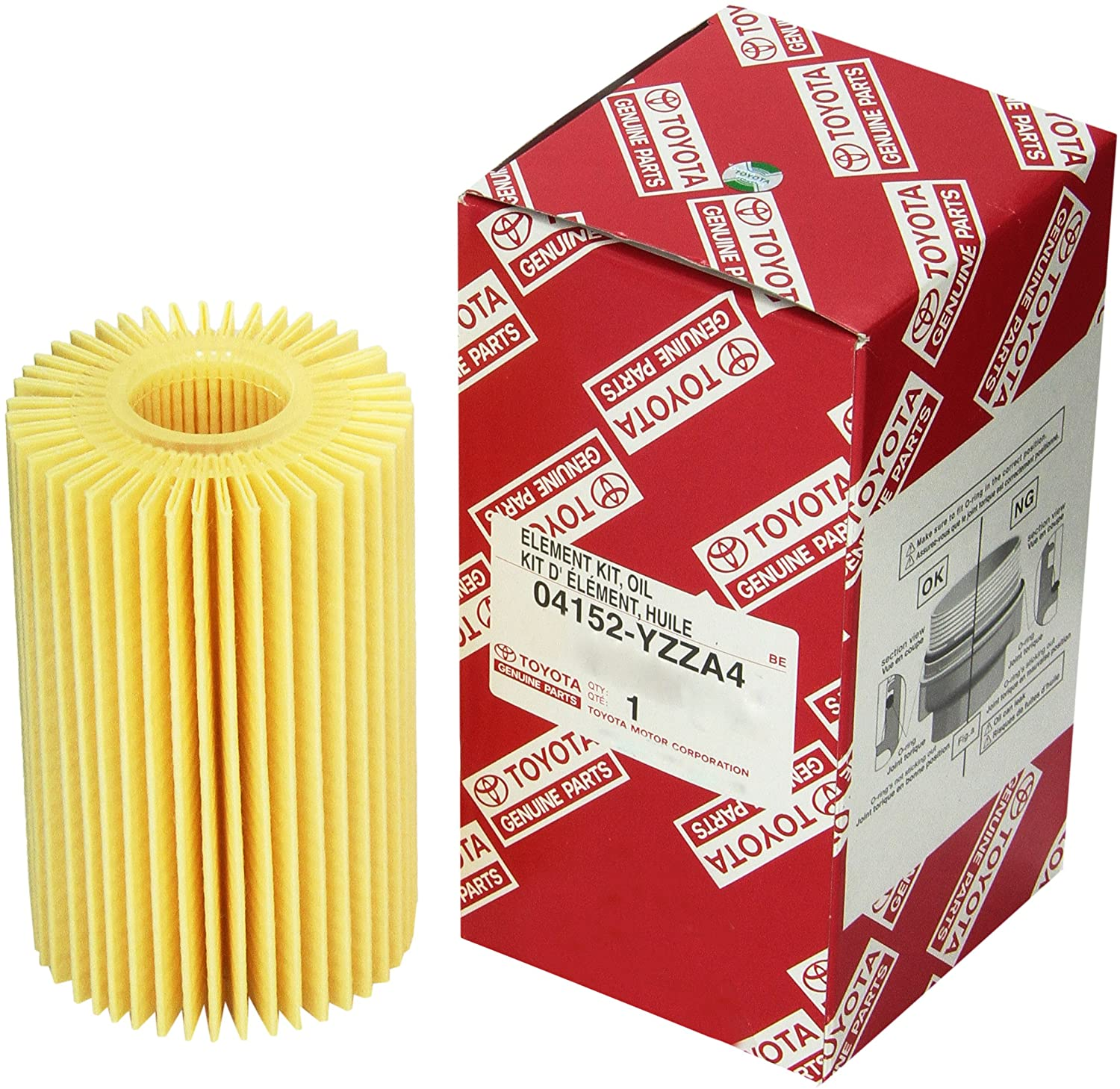 Toyota 04152-YZZA4 Oil Filter
