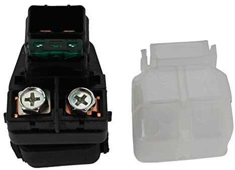 Rareelectrical NEW STARTER RELAY COMPATIBLE WITH SUZUKI MOTORCYCLE GSF600S 96-03 GSX1300R 99-07 31800-26E00 3180026E00