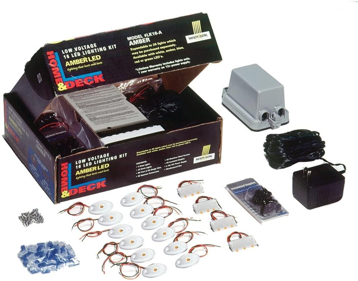 Innovative Lighting Dock and Deck LED Kit Amber LED/White - 090-1100-4