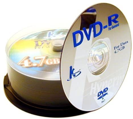 Khypermedia 4.7 GB DVD+R (25 Discs)
