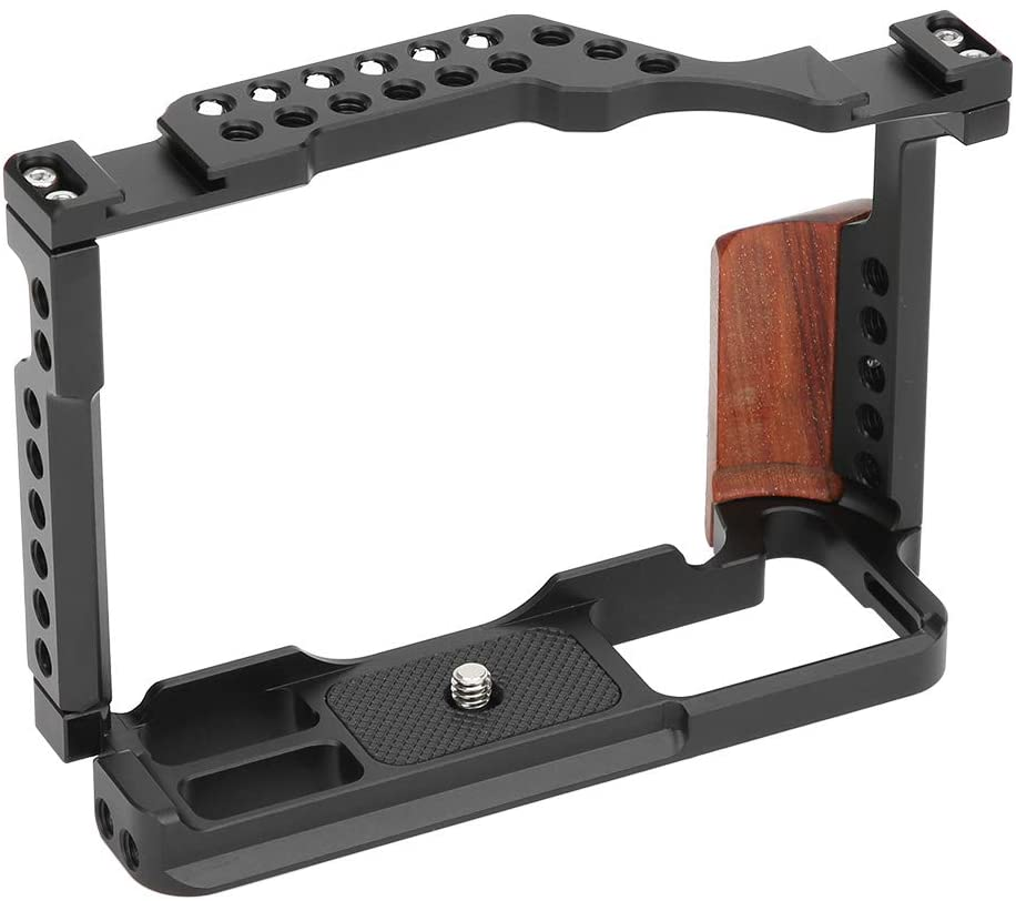 Sugoyi Comfortable and Stylish Multiple Screw Holes Extension Frame, Extension Frame Cage, for Fuji XT‑3Cage,