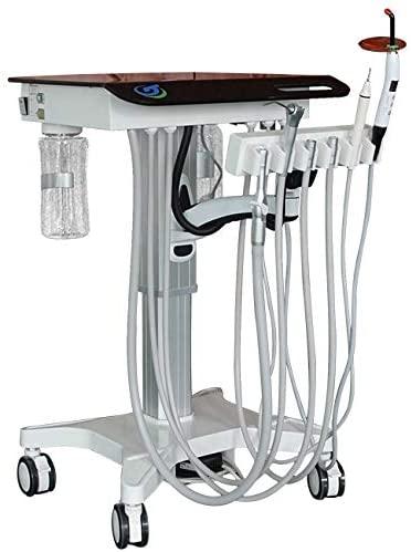NSKI Portable Delivery Cart GU-P302S Mobile Hight Adjustment Treatment System 4 Holes