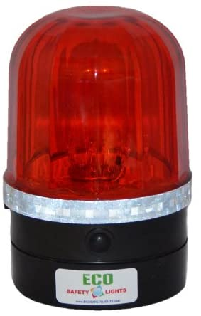 P6LM1 LED Portable Rapid Flashing Safety Lights Personal Hazard Light (RED)