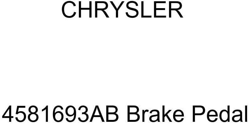 Chrysler Genuine 4581693AB Brake Pedal