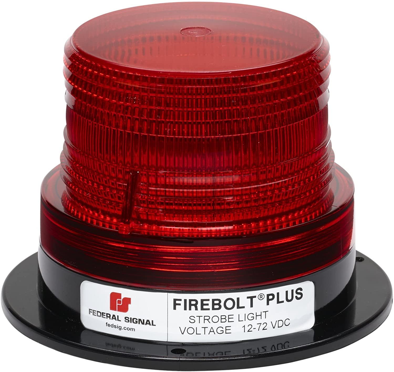 Federal Signal 220200-04 Firebolt Plus Red 3.61