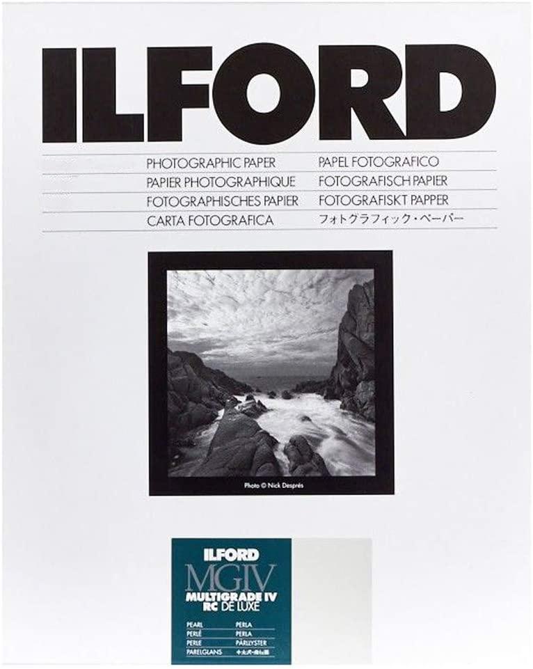 Ilford B&W Paper 8X10 Multigrade IV 100 Pack (Pearl)