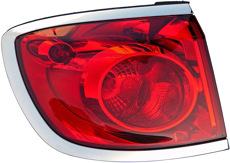 Dorman 1611441 Passenger Side Tail Light Assembly for Select Buick Models