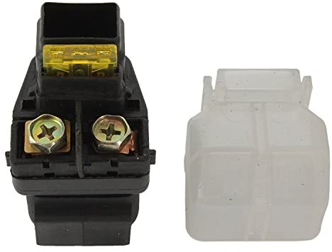 Rareelectrical NEW STARTER RELAY 20A FUSE COMPATIBLE WITH SUZUKI ATV LTZ400Z QUADSPORT 2003-08 3409-025 3409025 31800-07G00 3180007G00