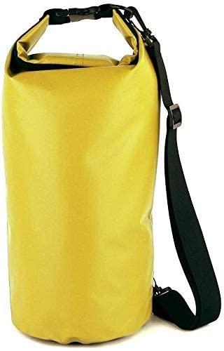 QYA Practical Motorbike Accessories Motorcycle Bag Outdoor PVC Dry Sack Bag Waterproof 10L 20L 30L Shoulder Bag Diving Swimming Hiking Driving Travel Kits Sturdy Material