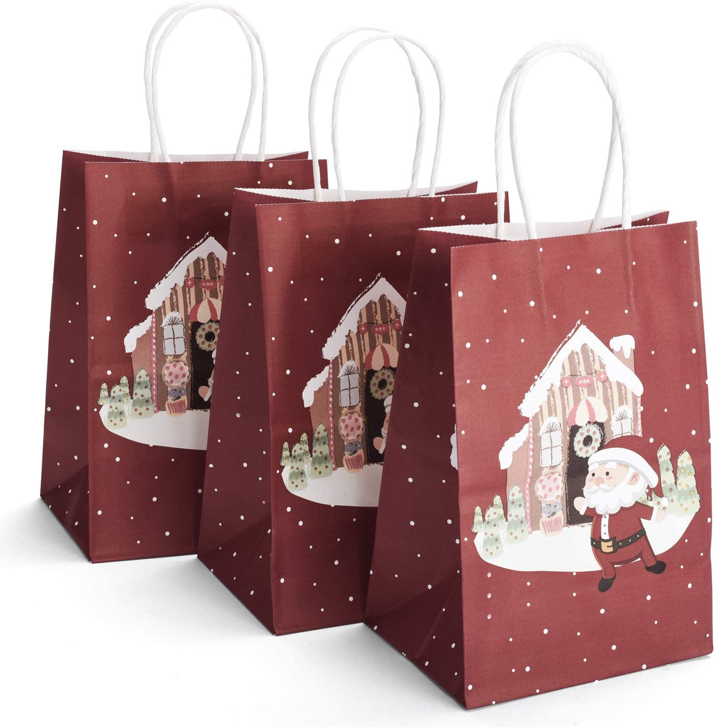 GSSUSA Christmas Paper Bags 5.25