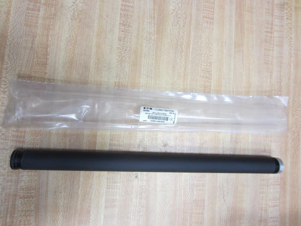 CUTLER HAMMER E26BKU 3/4 NPT- Black Anodized Aluminum, E26 360MM EXT Tube