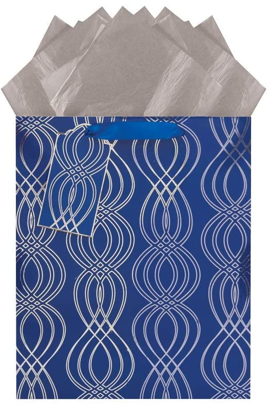 Infinite in Blue Large Gift Bag (4)