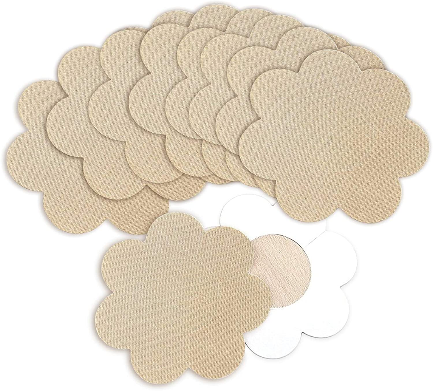 Nippleless Covers, Sexy Disposable Breast Pasties Adhesive Bra