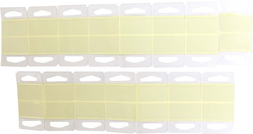 HELIOS 30 Piece Package Of Adhesive Tags For Store Displays With Hanger Openings - TAG-30