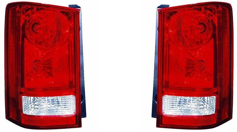 For Honda Pilot 2009-2014 Tail Light Assembly Pair Driver and Passenger Side (DOT Certified) HO2800174, HO2801174