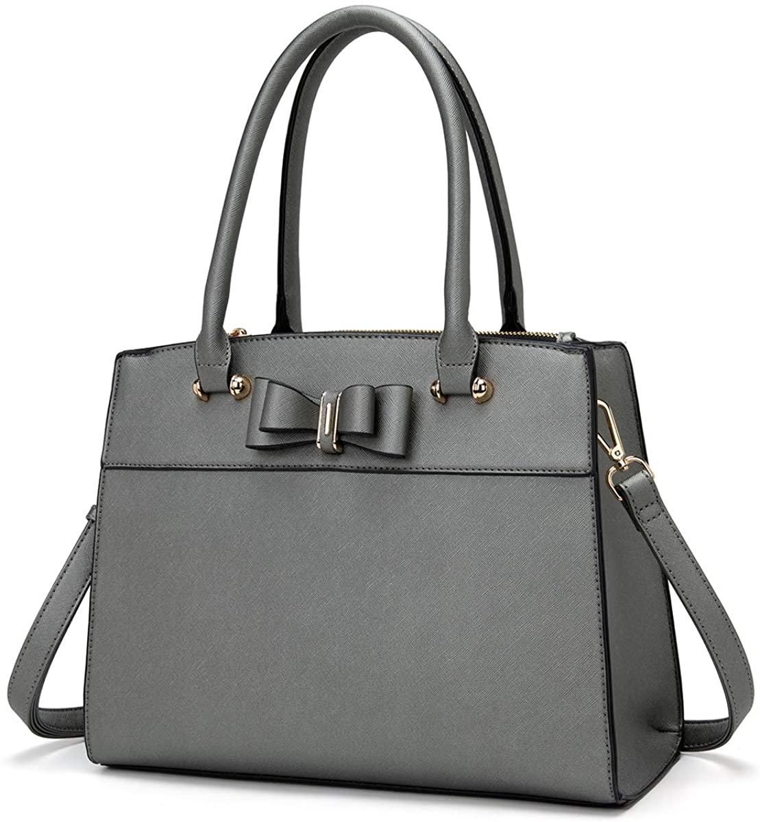 LJOSEIND Women's Handbags Bowknot Purses Designer Satchel Totes Fashion Shoulder Bags