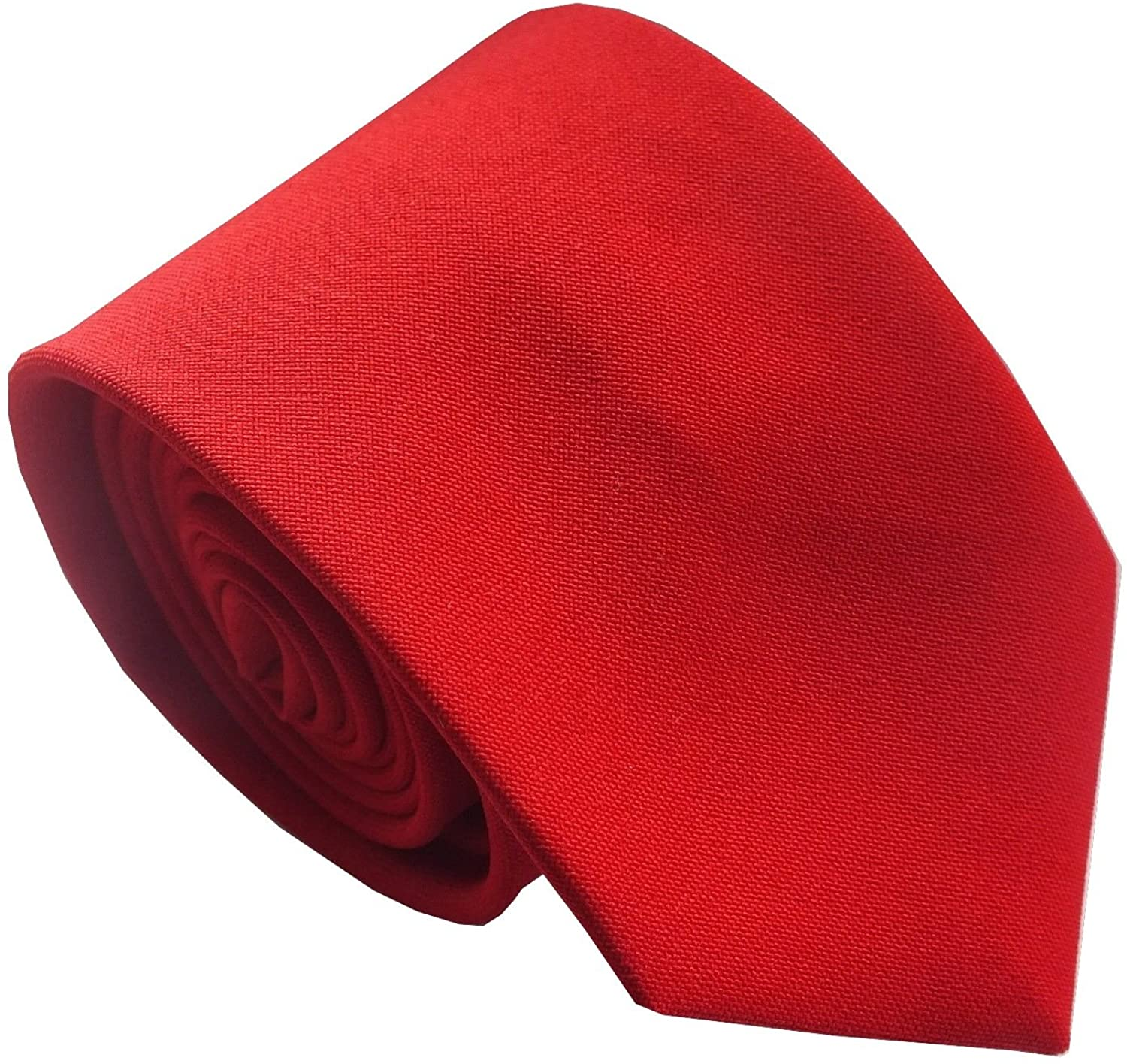 Boys Plain Red Holy Communion Neck Tie