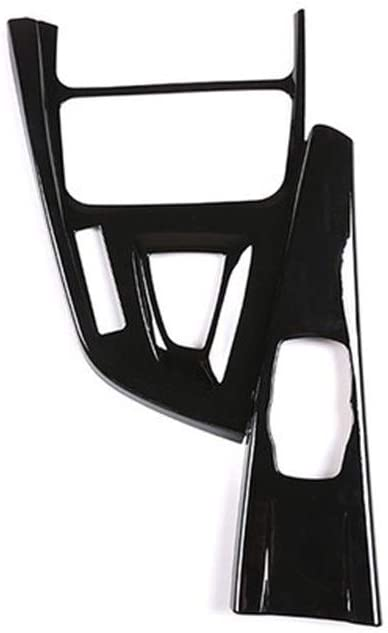 Lianhe ABS Center Console Gear Shift Decoration Frame Trim Accessories Fit for BMW 3 Series GT F30 F33 F34 F36 2013-2019 Left Hand Drive (Color Name : Glossy Black)
