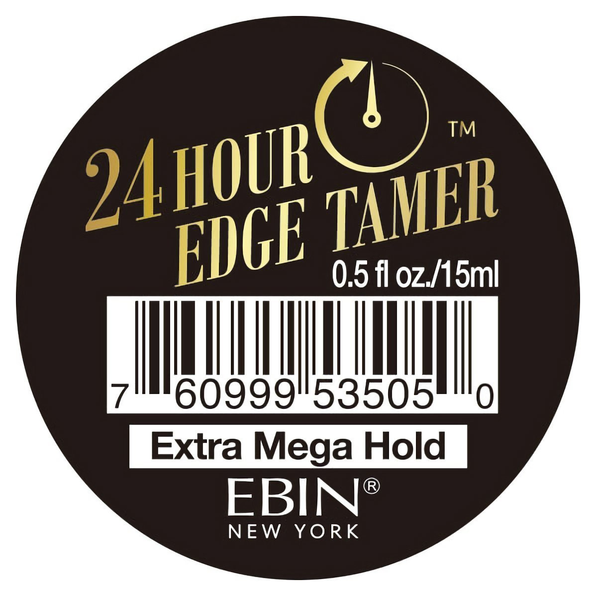 [EBIN NEW YORK] 24 HOUR EDGE TAMER EXTRA MEGA HOLD CONTROL 0.5OZ/15mL