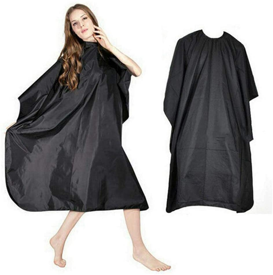 FANEO Adult Salon Hair Hairdressing Cutting Cape Barbers Gown Cloth Cover Bun & Crown Shapers