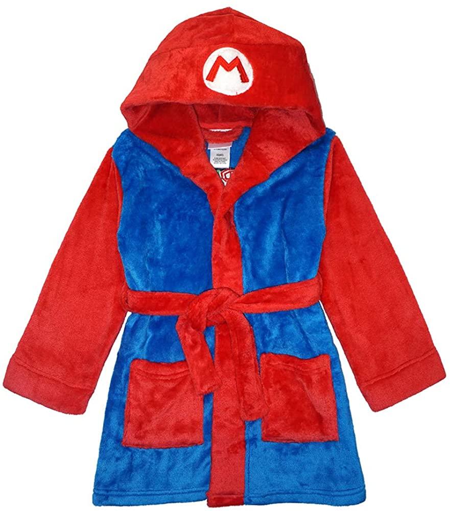 SUPER MARIO Little/Big Boys' Plush Robe