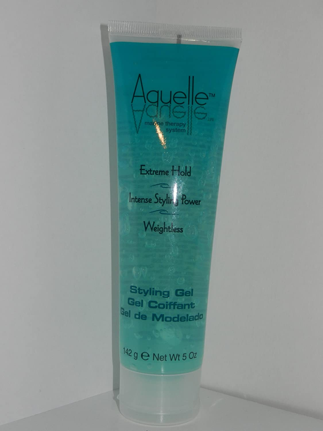 Aquelle Marine Therapy System Extreme Hold Weightless Styling Gel 5 Oz