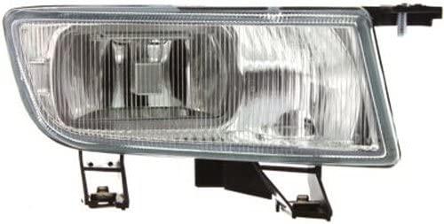 Crash Parts Plus Passenger Side Clear Lens Fog Light Assembly for Saab 9-3, 9-5