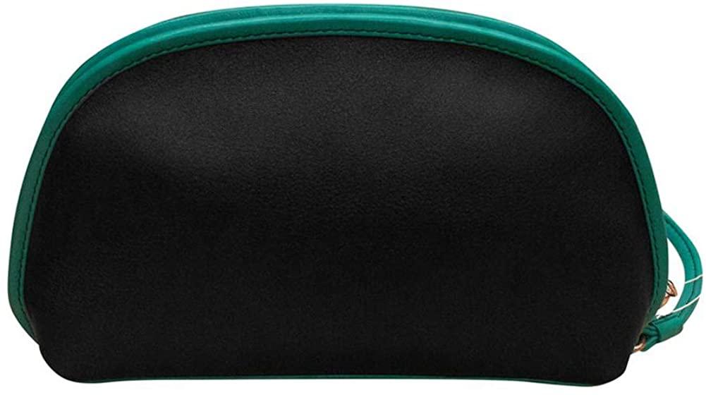 ili New York 6008 Two Tone Leather Wristlet