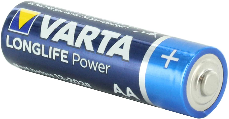 Varta V4906 High Energy AA Alkaline Battery Replaces LR06, Duracell MN1500, R06P, SUM4, LR6, LR6A, HP7, Rayovac 815, AA, Panasonic AM3, Energizer Ever Ready E91, MIGNON, STILO