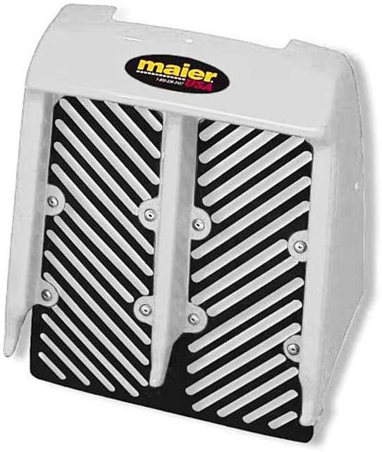 Maier Radiator Cover - Yamaha (White) for 87-06 Yamaha Banshee