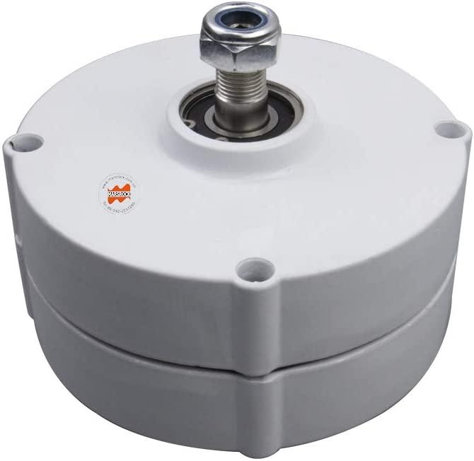 Marsrock 600r/m 100W 12V or 24V Permanent Magnet Generator AC Alternator for Vertical or Horizontal Wind Turbine 100W Wind Generator (12V)