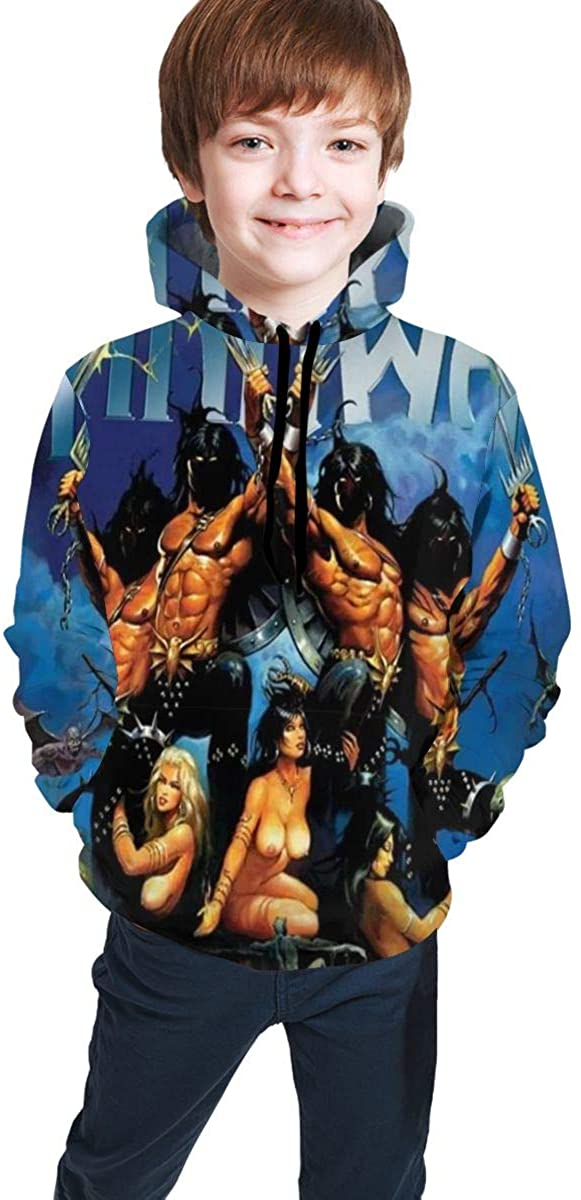 Fashion Youth Custom Manowar Hooded Leisure