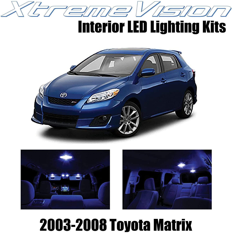 XtremeVision Interior LED for Toyota Matrix 2003-2008 (6 Pieces) Blue Interior LED Kit + Installation Tool