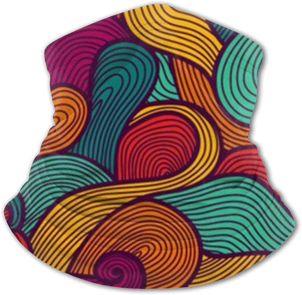 Hipster Colorful Patterned Headwear For Girls And Boys, Head Wrap, Neck Gaiter, Headband, Tenn Fishing Mask, Magic Scarf, Tube Mask, Face Bandana Mask For Camping Running Cycling