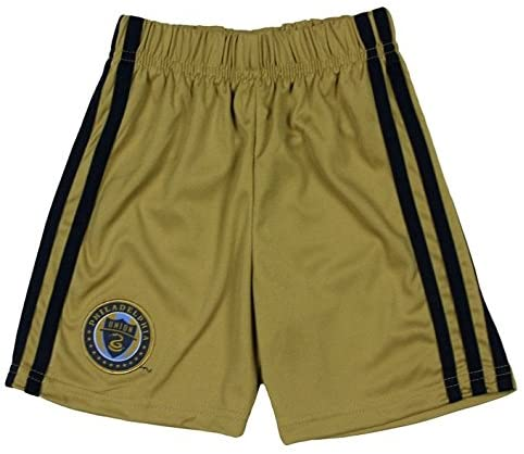 Outerstuff Philadephia Union MLS Toddler's Gold Home Replica Short