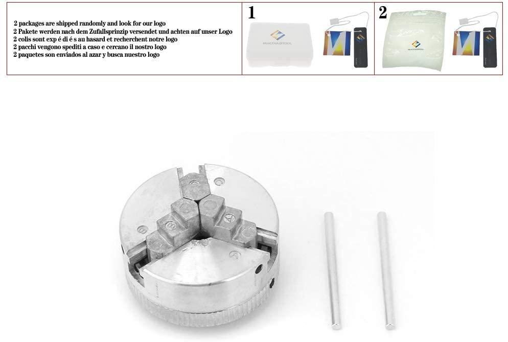 Z011 Zinc Alloy 3-Jaw Chuck Clamp Accessory for Mini Metal Lathe